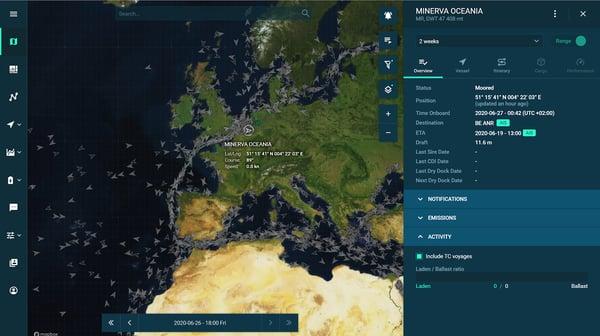 Visualization in Orbit platform