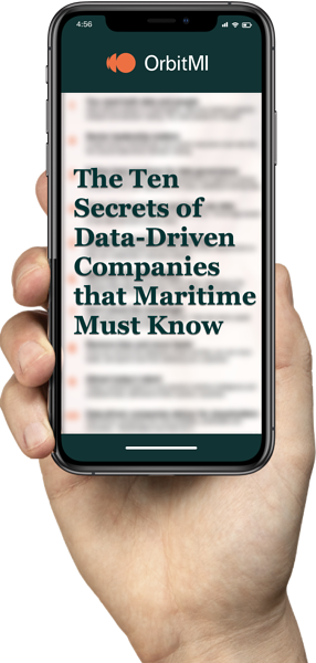 The Ten Secrets of Data Driven Companies that Maritime Must Know Hand