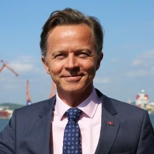 Erik Lewenhaupt, Head of Sustainability, Stena Line